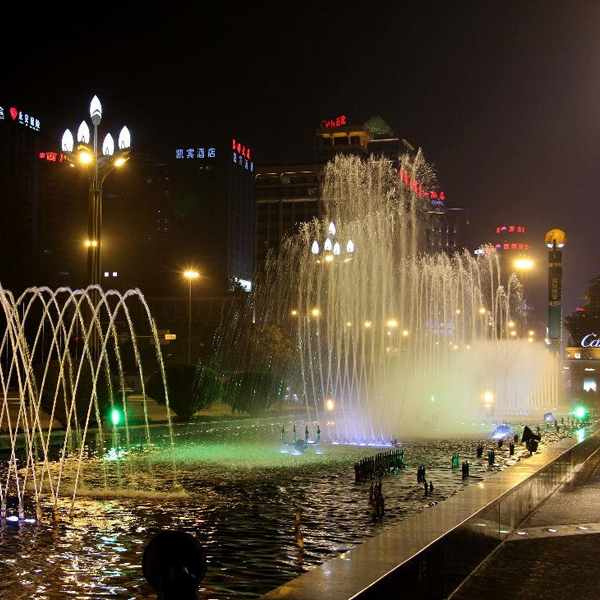 Dancing and Musical Fountains
